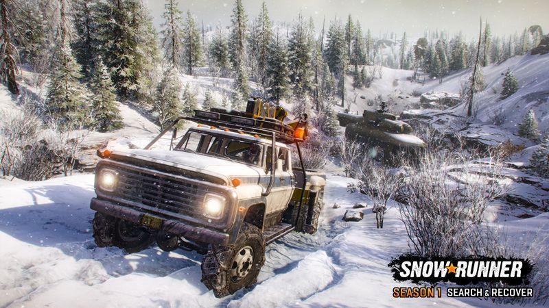 Первый сезон SnowRunner под названием Search & Recover начнется 15 июля