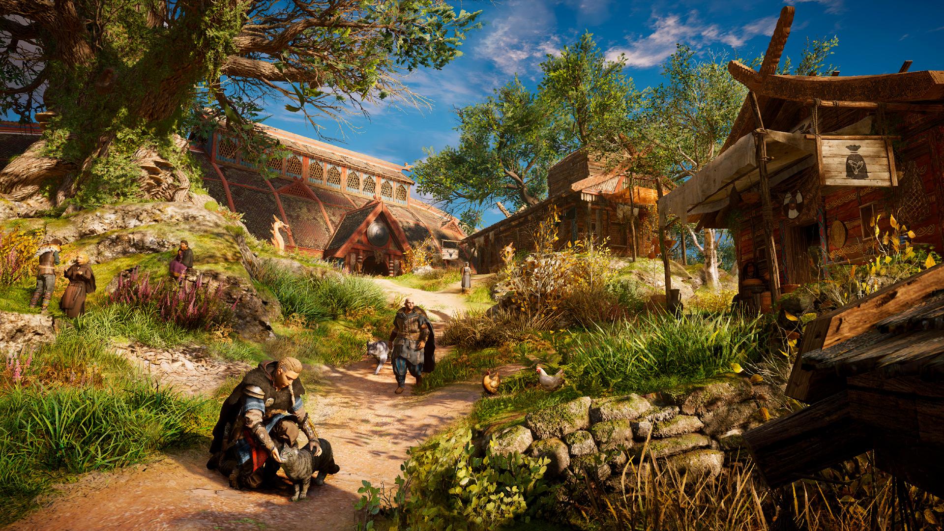 Впечатления и час геймплея с превью-сессии Assassins Creed Valhalla