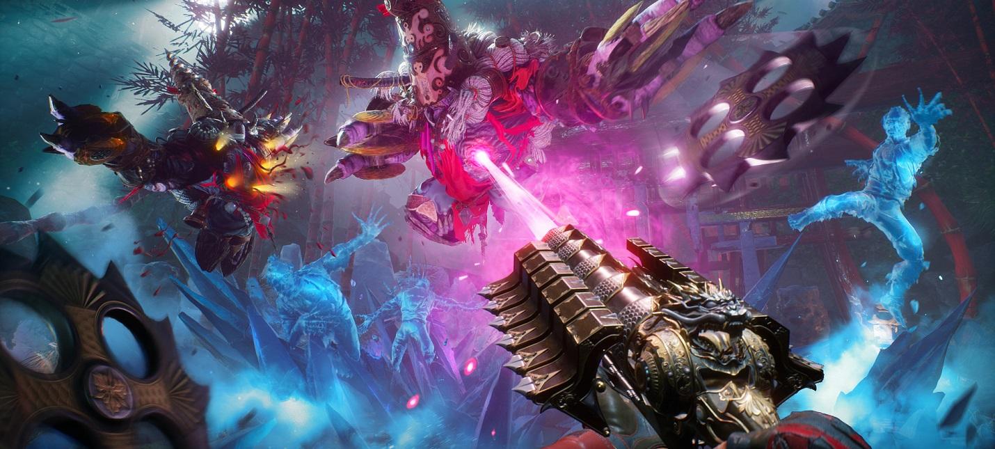 Сочные скриншоты экшена Shadow Warrior 3