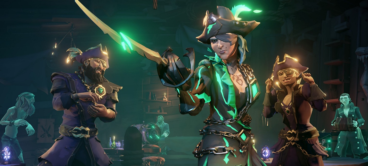 Steam-чарт: Продажи Sea of Thieves уступают только Valve Index