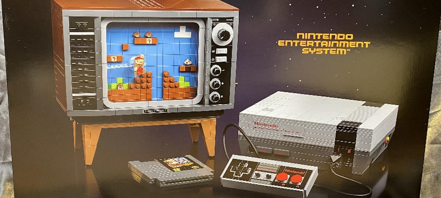 Утечка LEGO выпустит набор с NES и старым телевизором