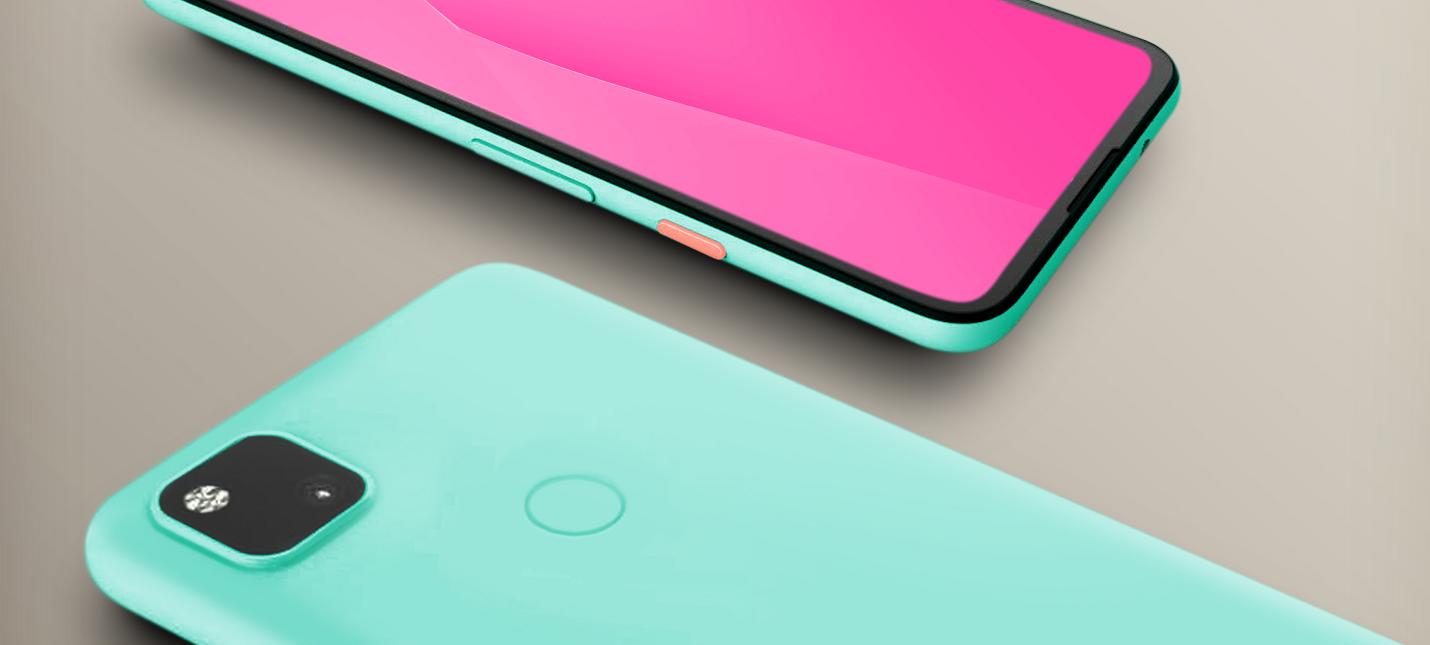Первый взгляд на дизайн Google Pixel 4A