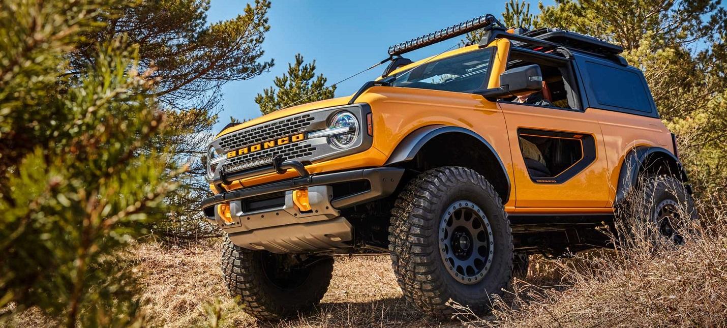 Ford возродила внедорожник Bronco, который не выпускался с 1996 года