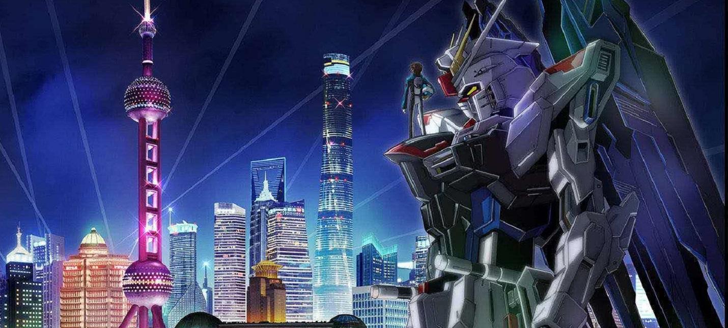 Полноразмерная статуя робота Gundam появится в Шанхае