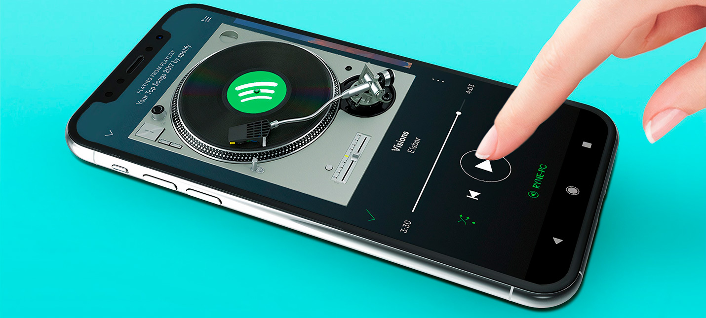 Spotify заработал на iOS в России — 170 рублей в месяц за Premium
