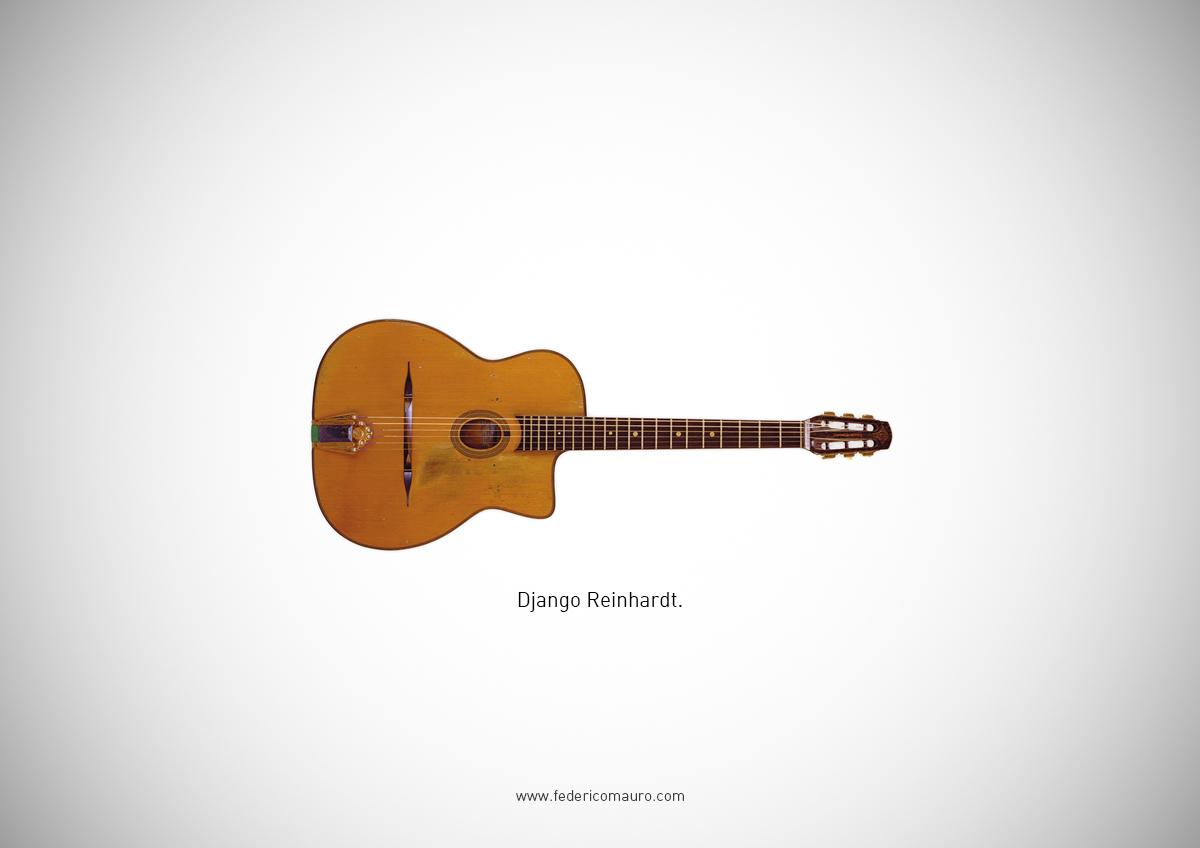 2 Famous Guitars Django Reinhardt Behind the Music Famous Guitars