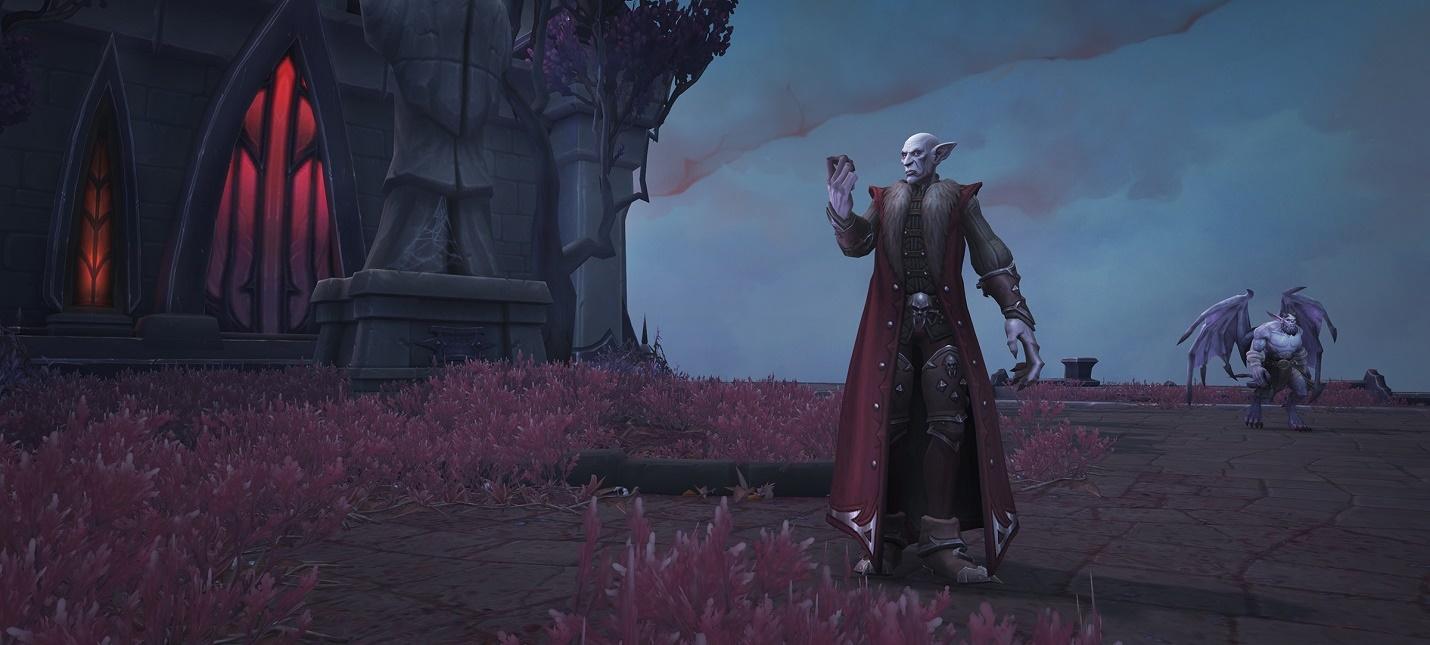 World of Warcraft Shadowlands перешла в стадию бета-тестирования  в клиенте доступен практически весь контент