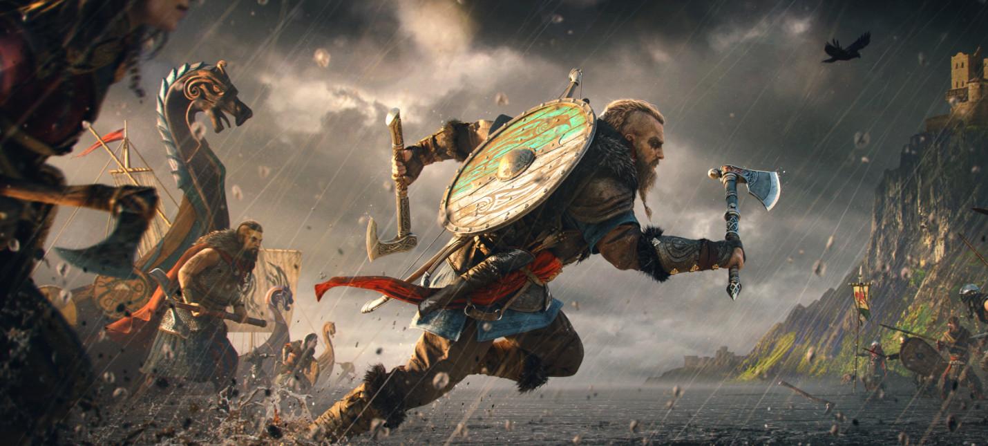 Новый трейлер Assassin's Creed Valhalla посвящен главному герою