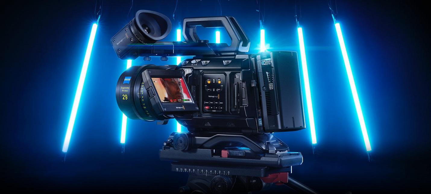 Вышла камера Blackmagic за 9995 с возможностью съемки в 12K с 60FPS