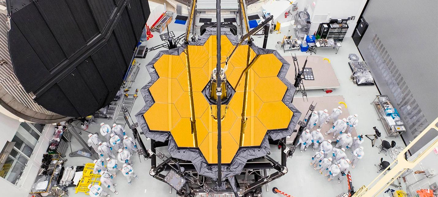 NASA планирует запустить телескоп имени Джеймса Уэбба на Хэллоуин 2021 года