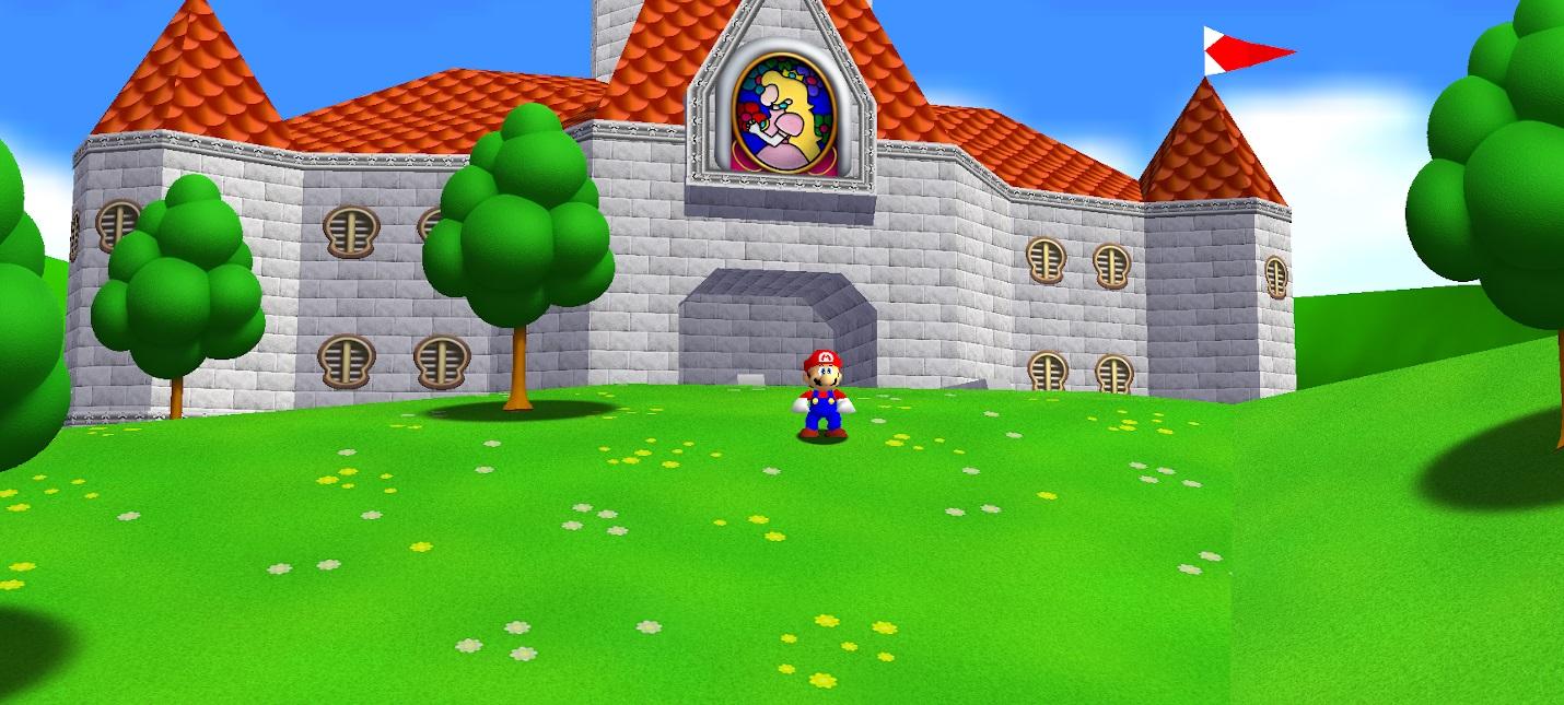 Моддеры выпустили пак 4K-текстур для порта Mario 64 на PC