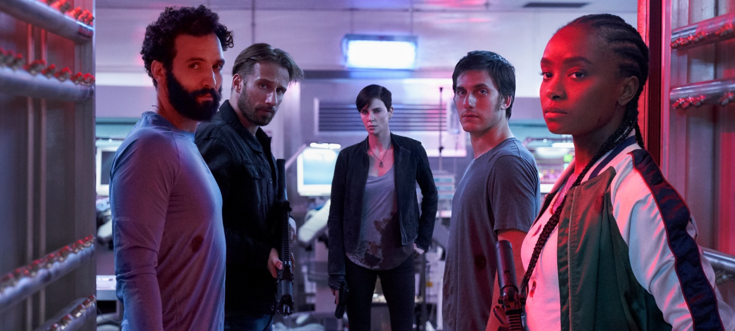 """""""Бессмертная гвардия"""" вошла в топ-10 самых популярных оригинальных фильмов Netflix"""