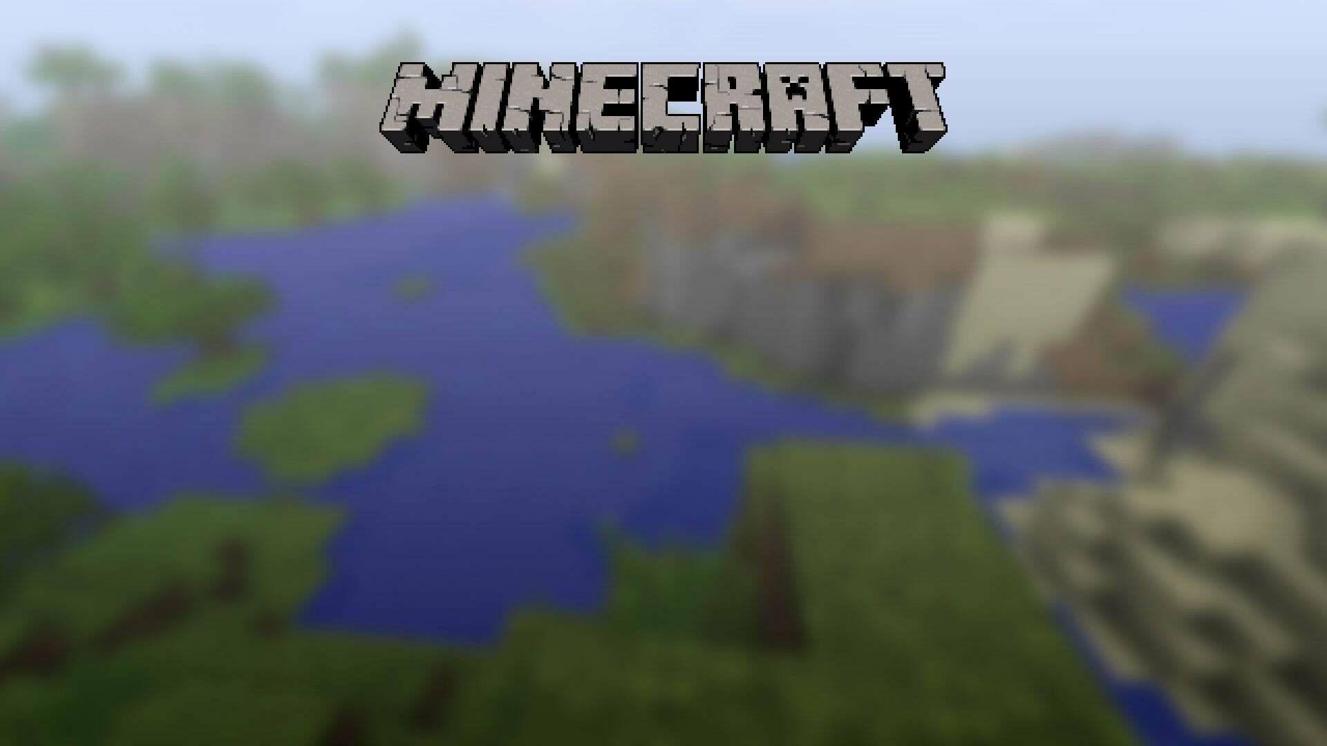 Спустя почти 10 лет игроки все же попали в мир с титульного экрана Minecraft