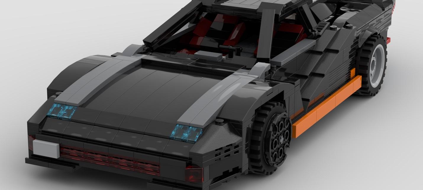Энтузиаст собрал Quadro Turbo R из Cyberpunk 2077 с помощью LEGO