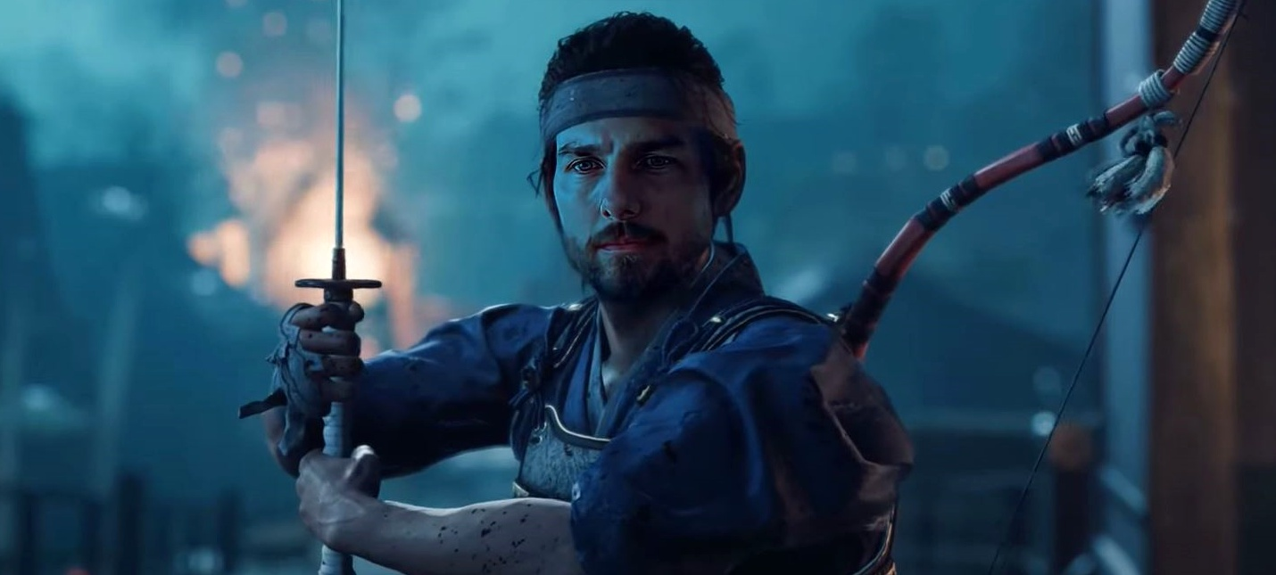 DeepFake Том Круз в роли последнего самурая из Ghost of Tsushima