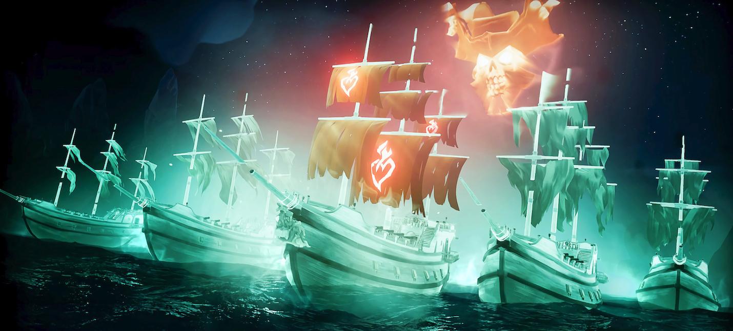 Статистика Sea of Thieves 15 миллионов пиратов, миллион копий в Steam