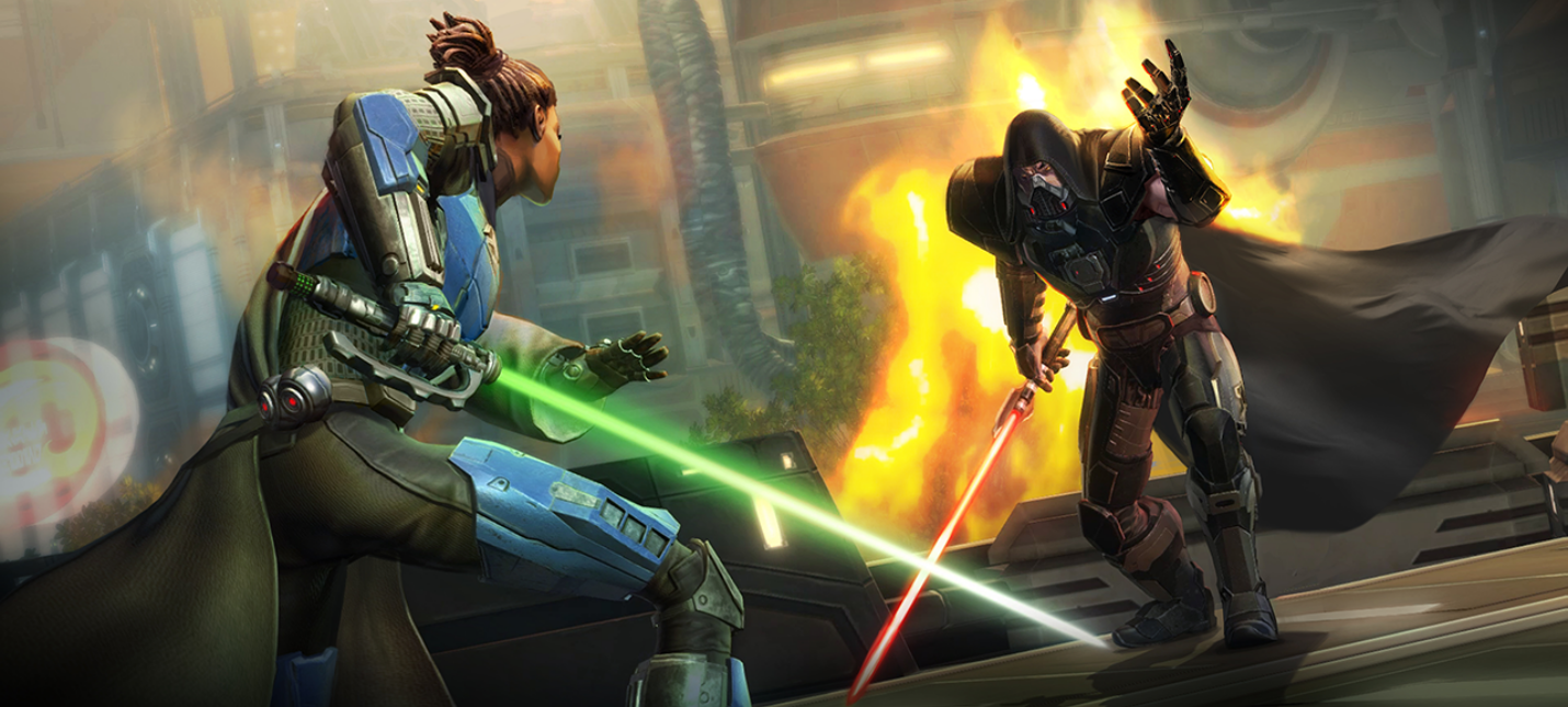 Star Wars The Old Republic вышла в Steam
