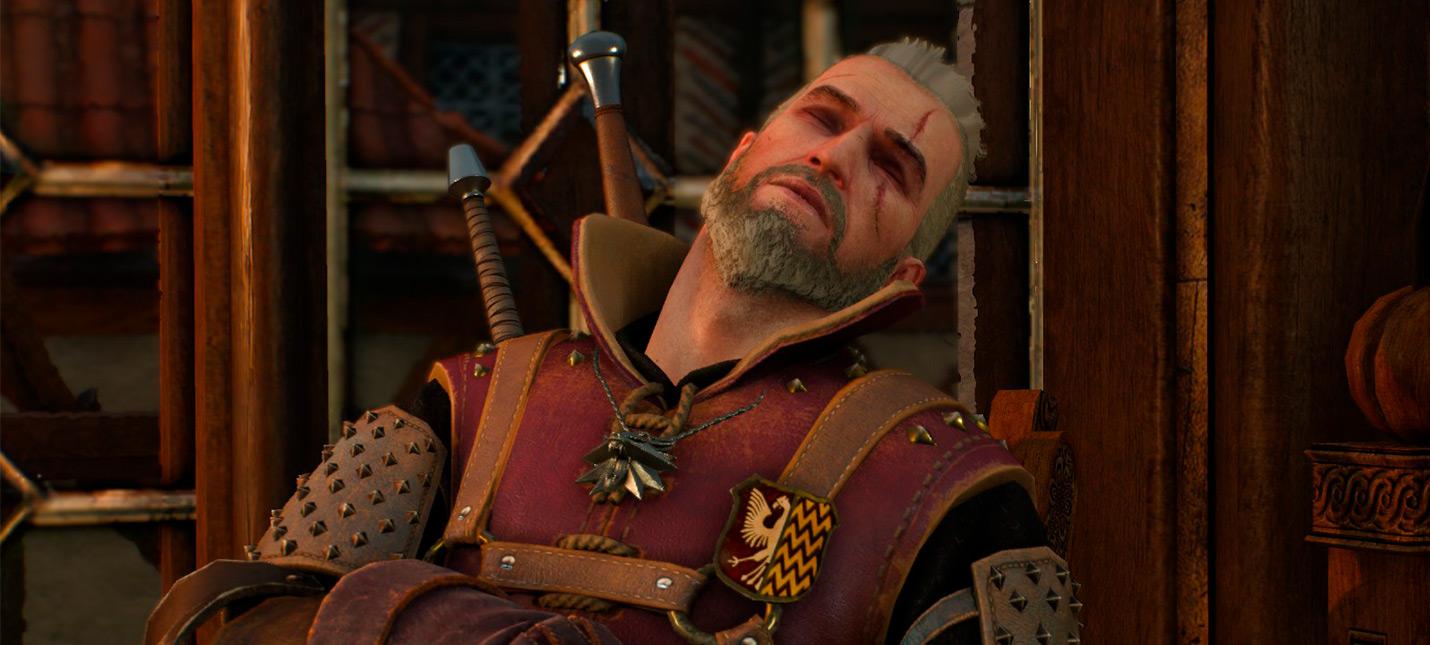 Урон от падений в The Witcher 3 — это не канон, по книгам Геральт гораздо грациознее