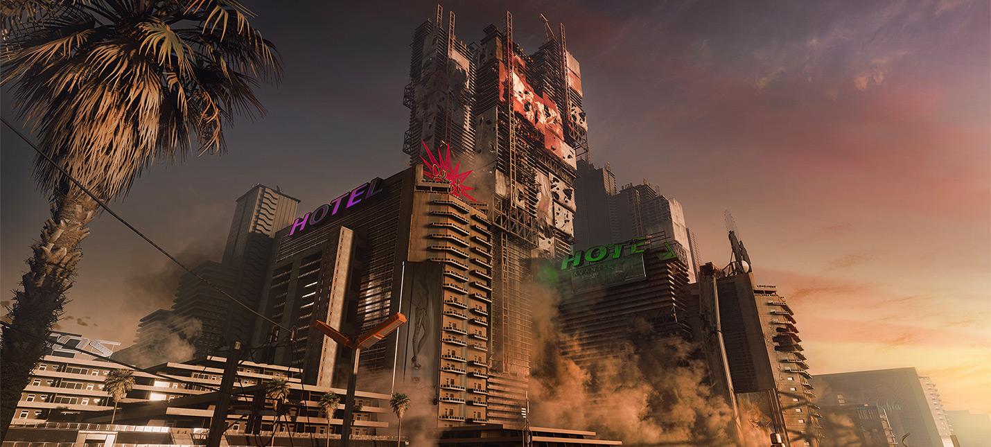 Разработчики Cyberpunk 2077 показали спальный район Найт-Сити   Хейвуд