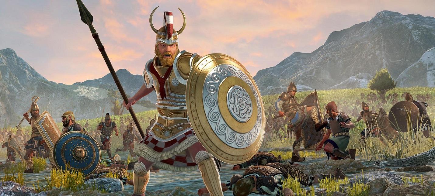 Масштабные сражения и стратегический режим в геймплее Total War Saga Troy