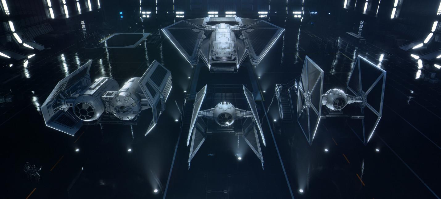 Масса нового геймплея Star Wars Squadrons