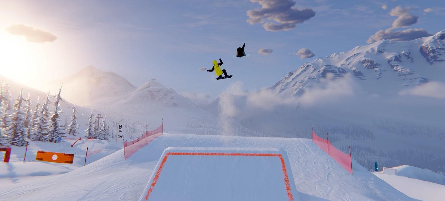 Первый трейлер Shredders  мультиплеерной игры про трюки на сноуборде