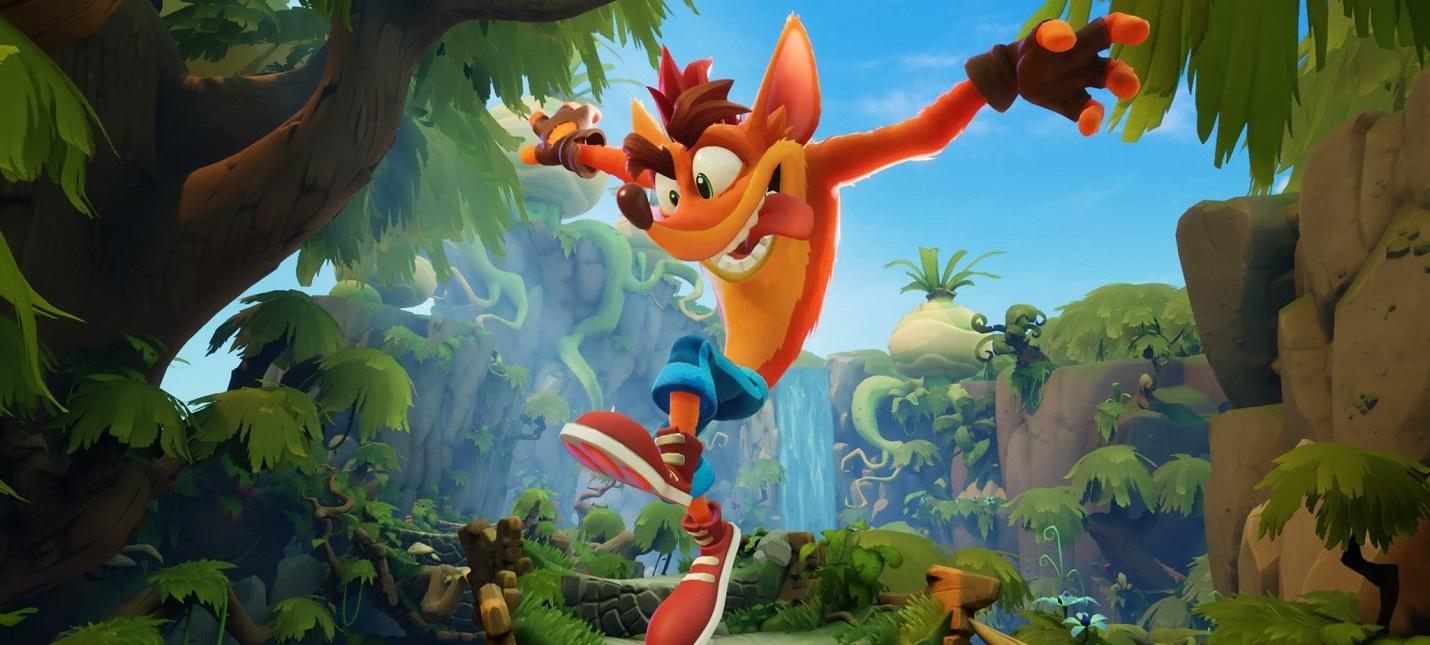 Новый геймплей из демо-версии Crash Bandicoot 4 Its About Time
