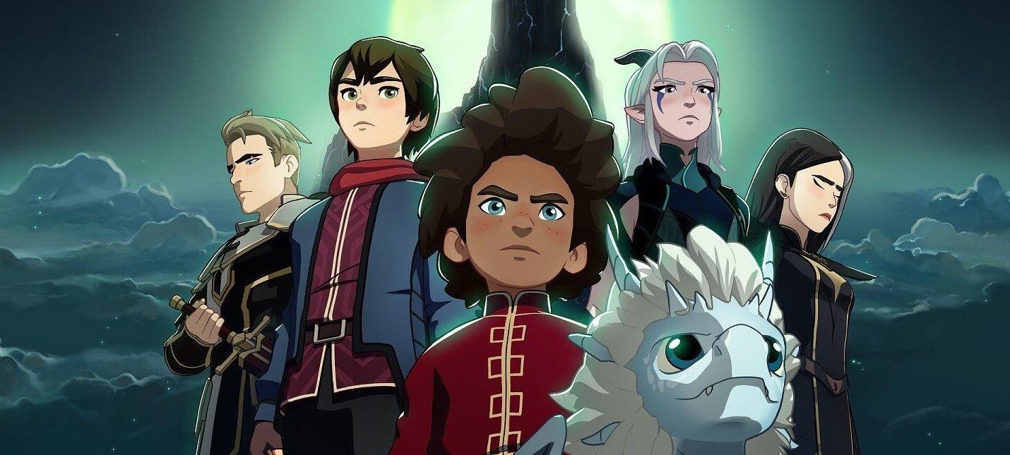 Netflix продлил The Dragon Prince на четыре сезона