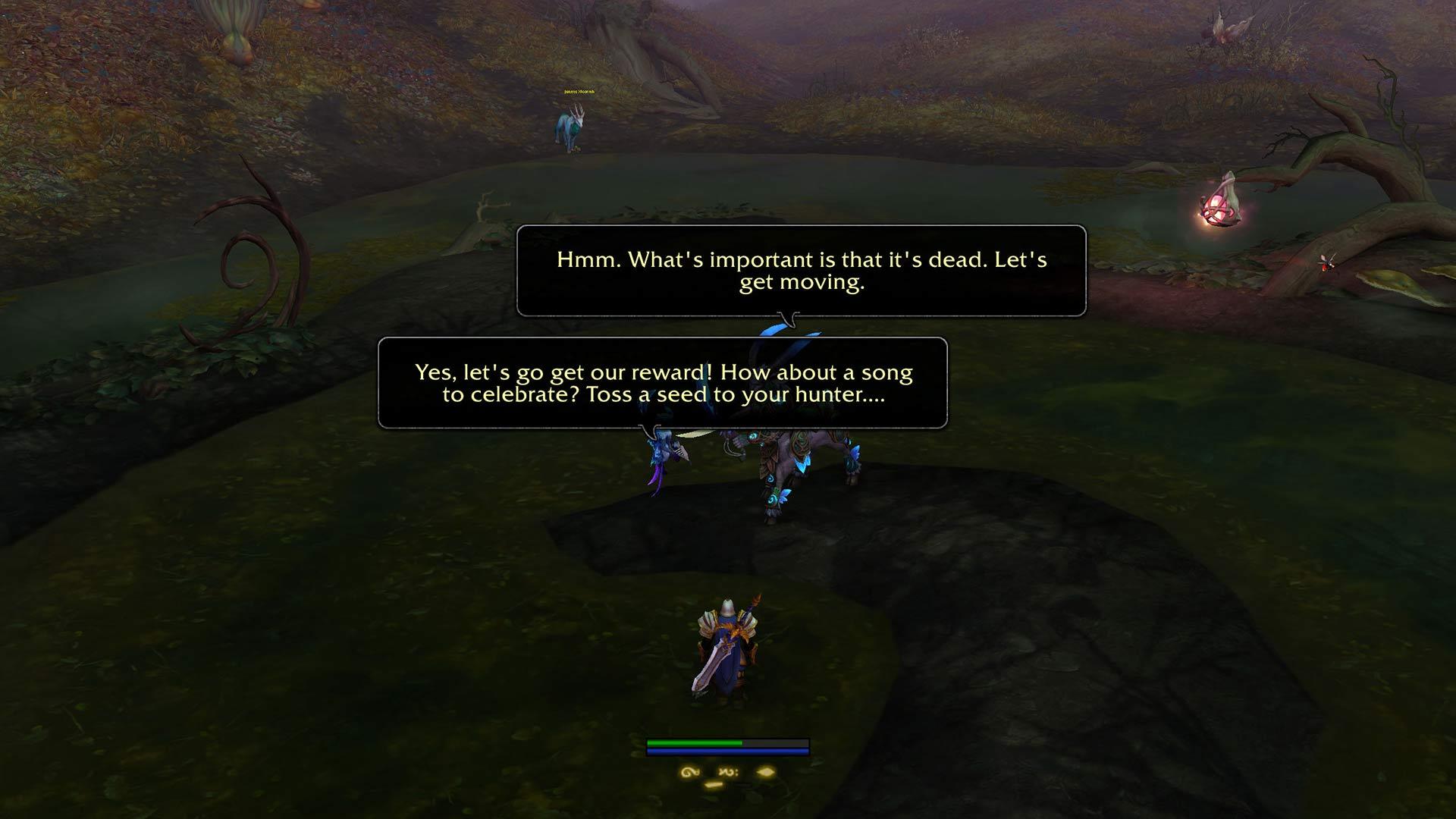 """В бете World of Warcraft: Shadowlands обнаружили отсылку к """"Ведьмаку"""""""