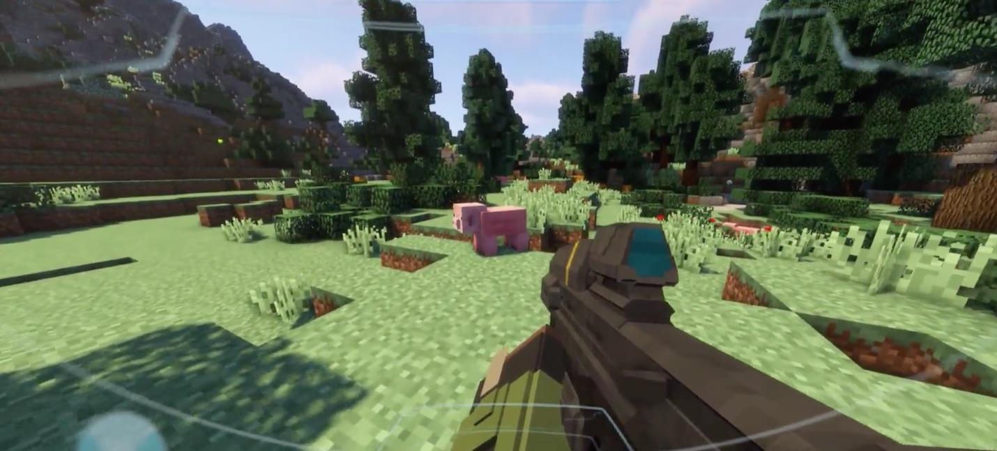 Игрок воспроизвел геймплей Halo Infinite в Minecraft