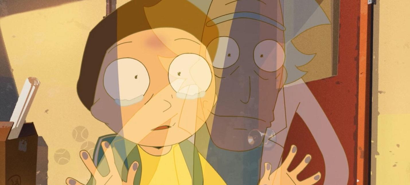 Вышла безумная аниме-короткометражка Рик и Морти