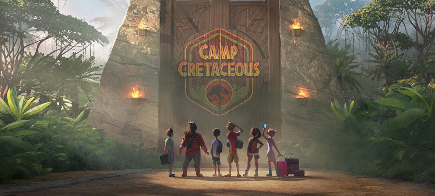 Первый трейлер мультсериала Jurassic World Camp Cretaceous
