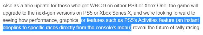 СМИ: В PS5 будет реализована опция виджетов под названием Activities