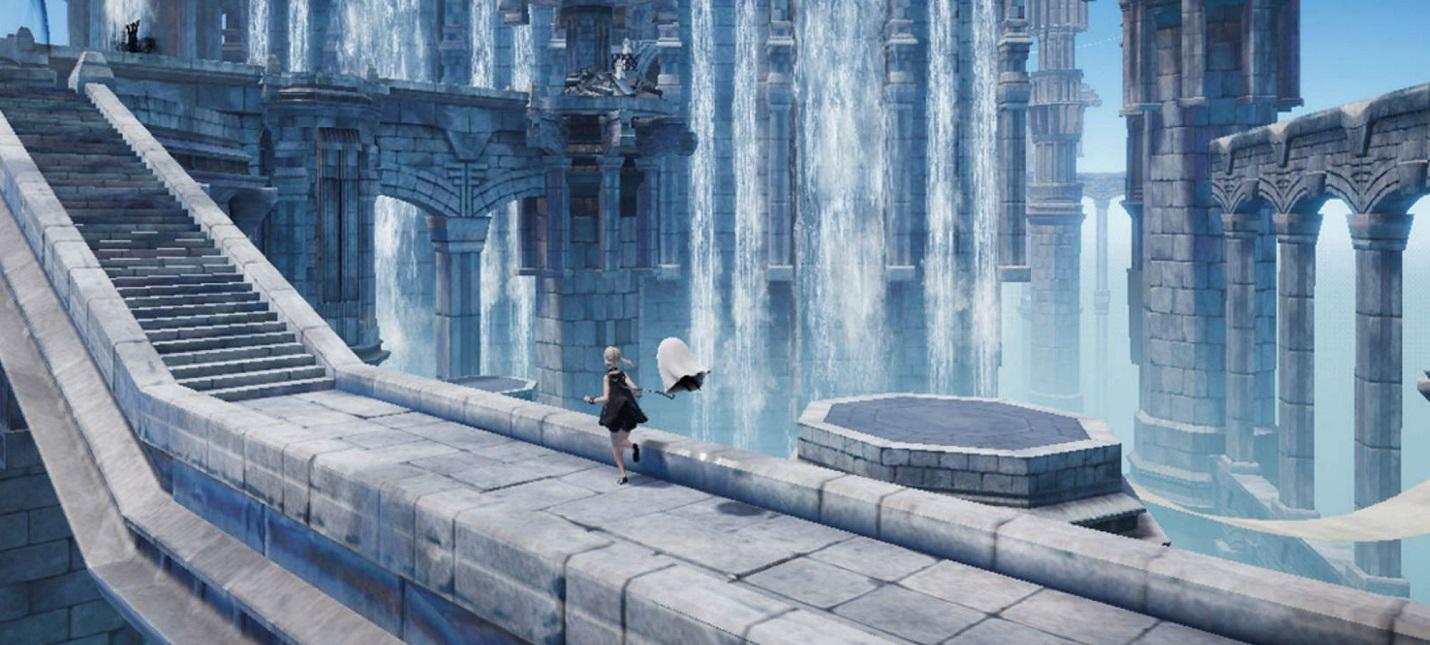 Начало игры в первом геймплее NieR Reincarnation