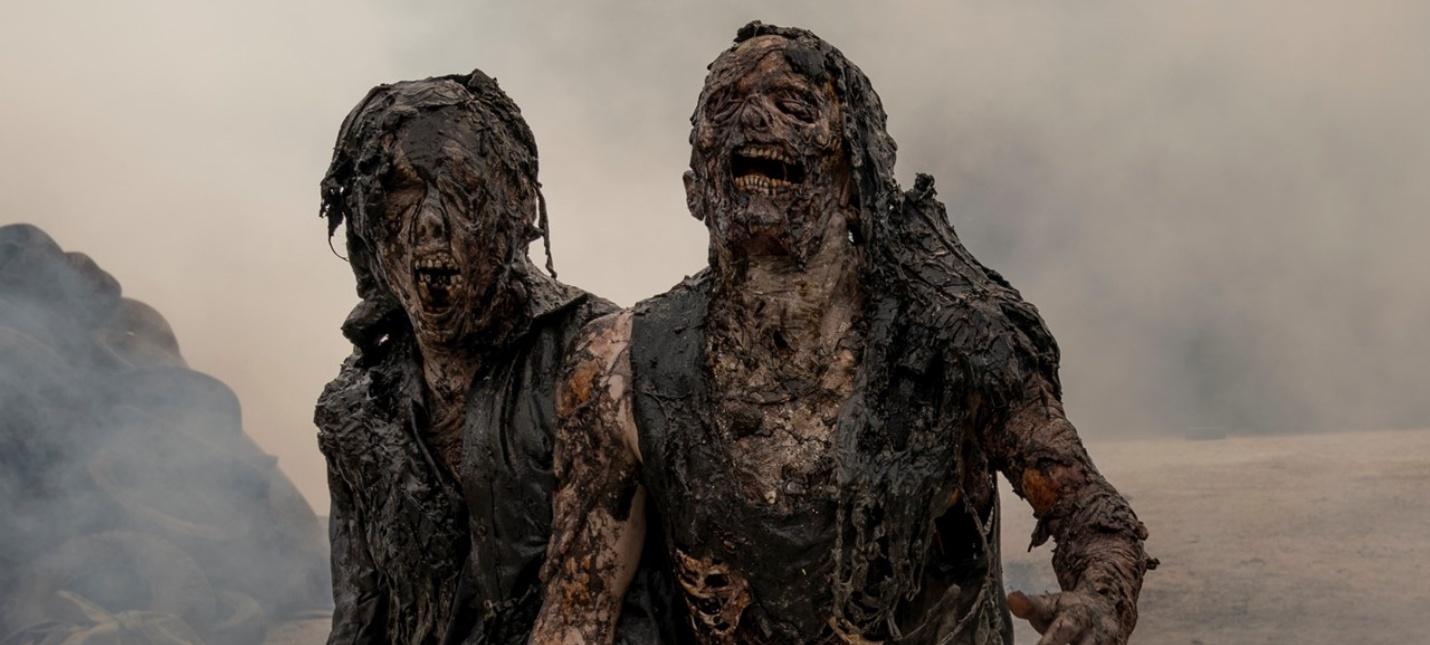 Трипофобы, готовьтесь  в The Walking Dead World Beyond покажут нового ходячего