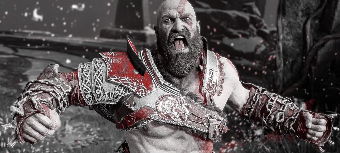 Фанат God of War набил себе татуировку с Кратосом и Атреем на всю руку