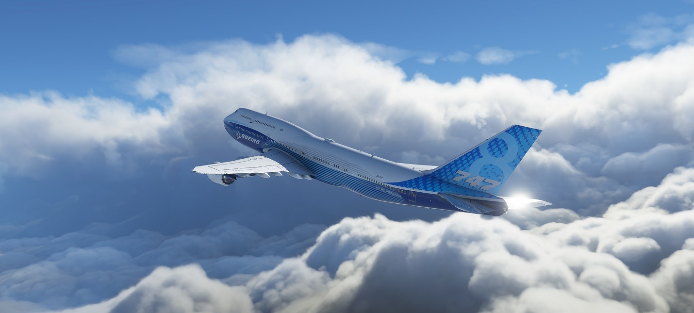 Прекрасные полеты в геймплее Microsoft Flight Simulator