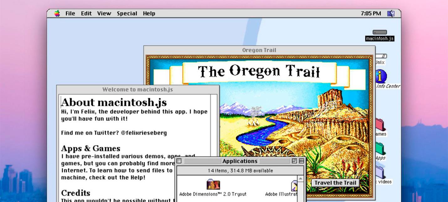 Эмулятор Mac OS 8 позволяет вернуться в конец 90-ых годов на современном PC