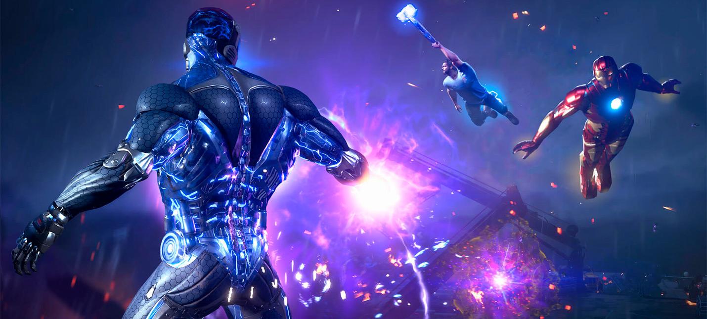 Много новых деталей Marvels Avengers  оффлайн-режим, скиллы, ИИ и другое
