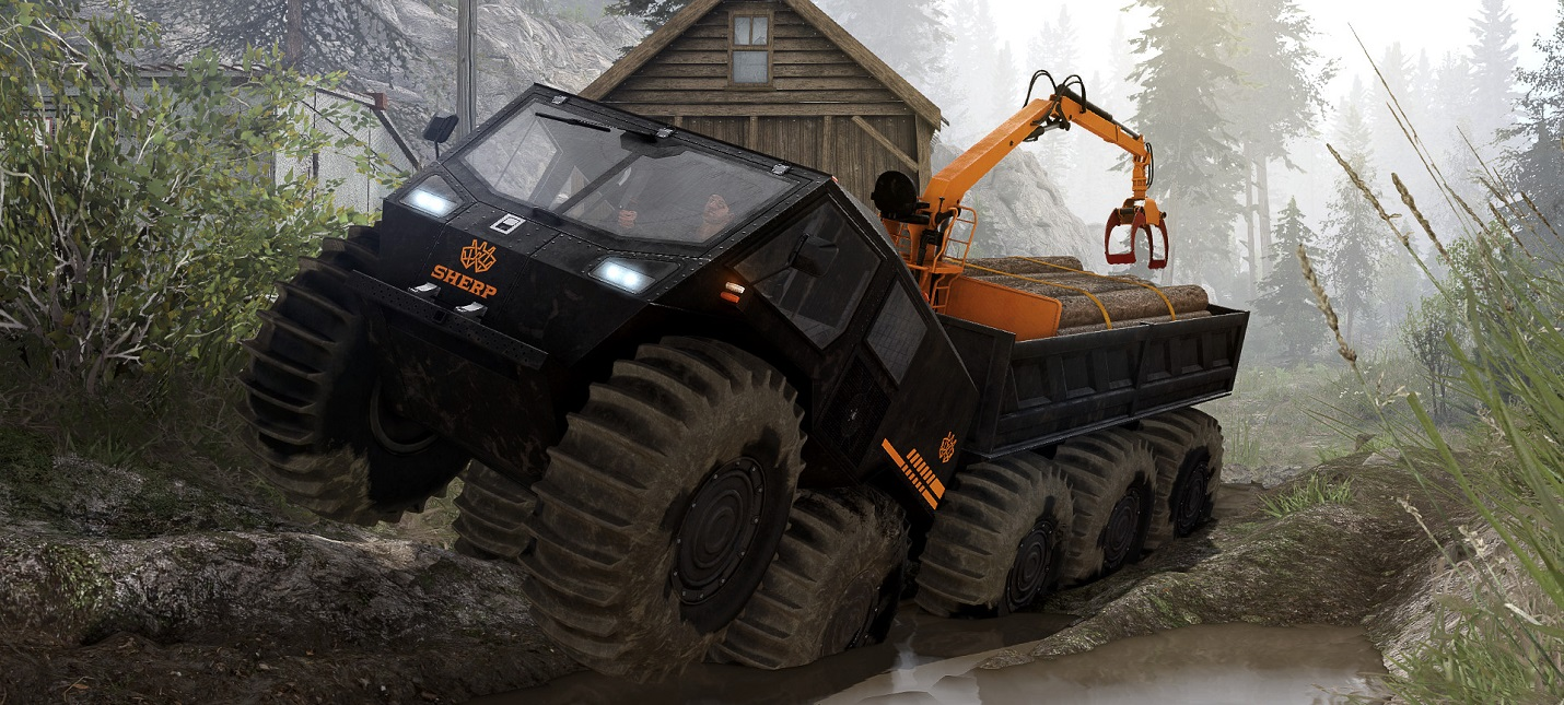 """Уральские горы и вездеход """"Шерп"""" — трейлер нового DLC для Spintires"""