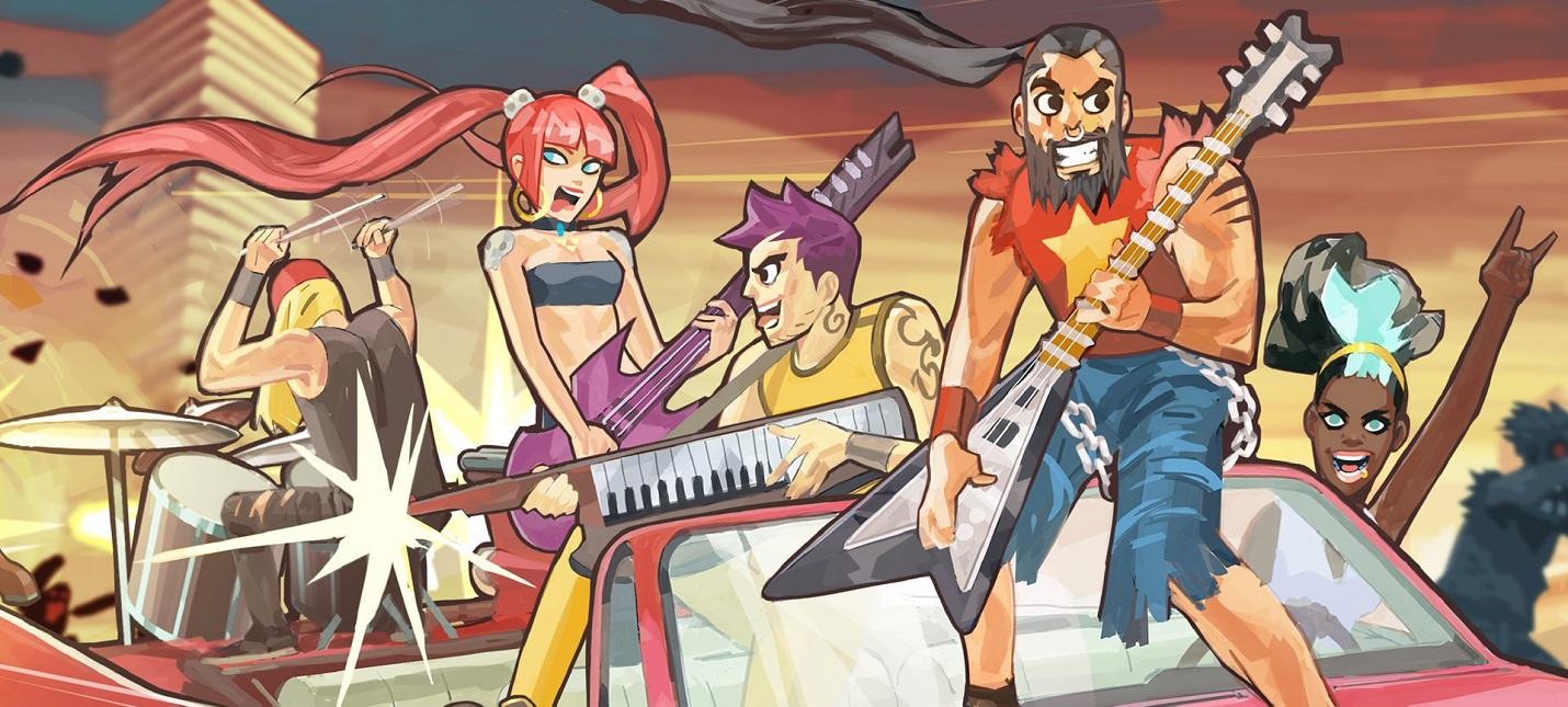 Постапокалиптический ритм-шутер Double Kick Heroes выйдет из раннего доступа 13 августа