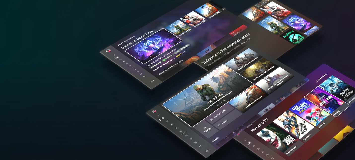Скриншоты и подробности нового магазина на Xbox