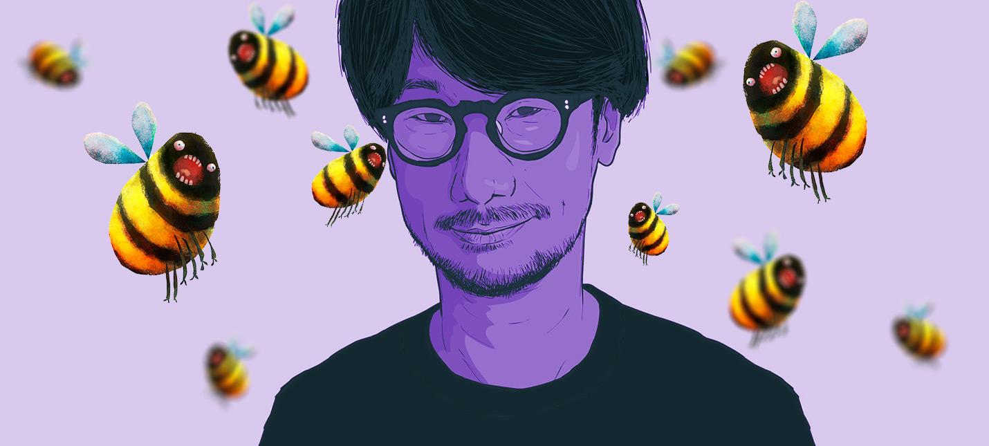 Кодзима рассказал о сложном прошлом пьяное падение с дерева и укусы десятка пчел