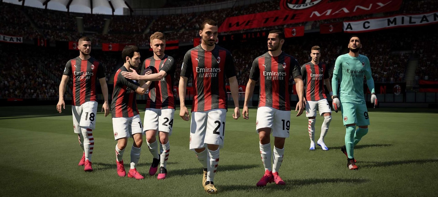 Первый геймплейный трейлер FIFA 21