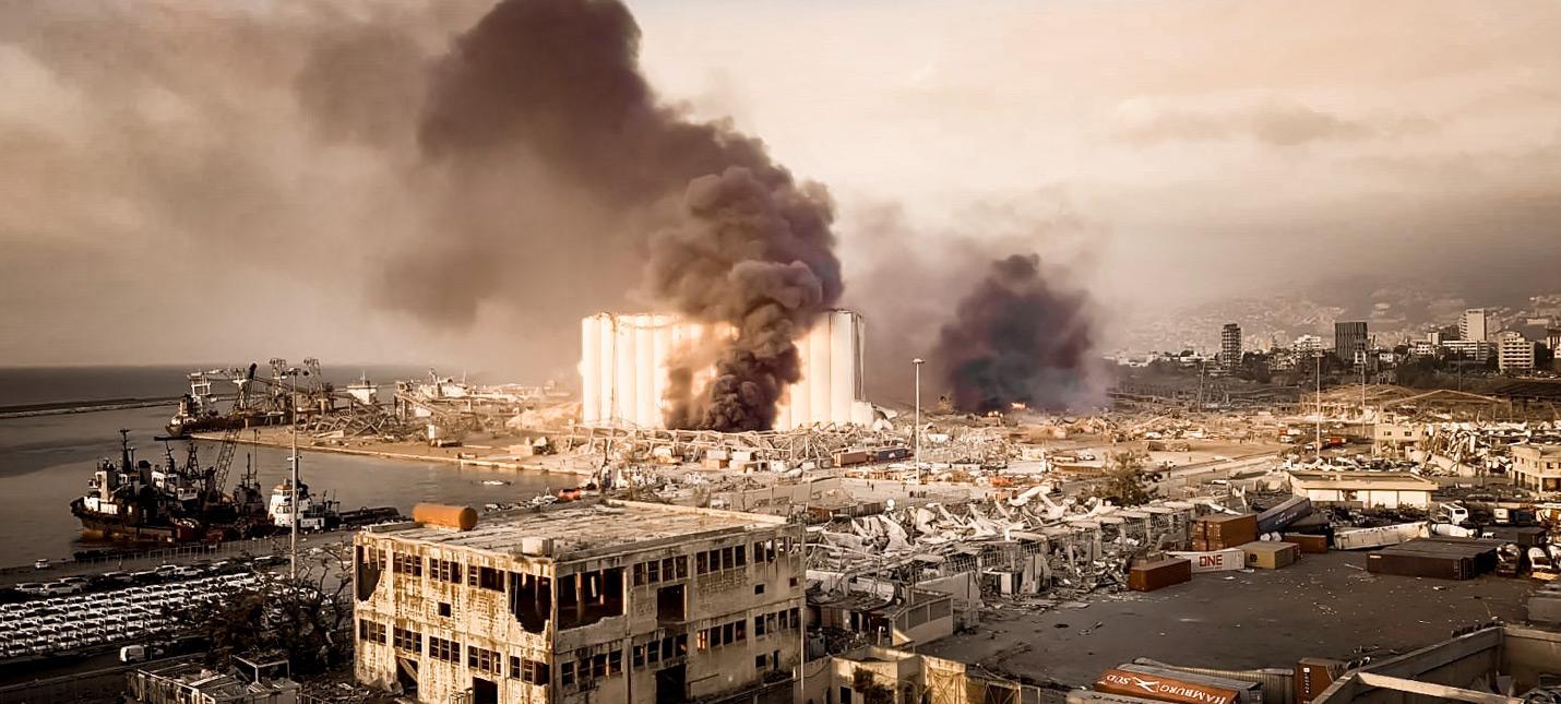 В Бейруте произошел взрыв огромной мощности, превративший город в руины