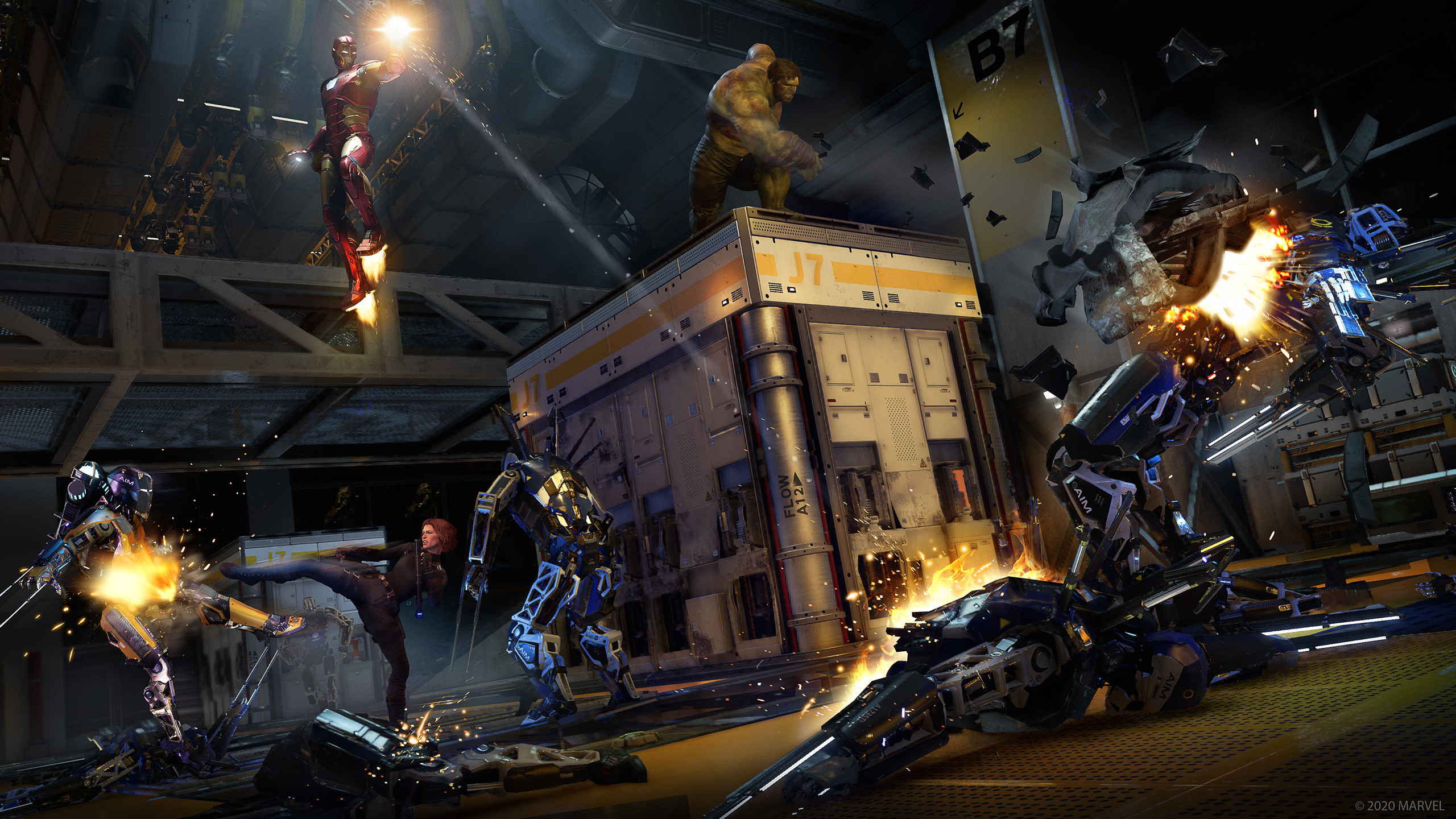 Мстители, собираем лут: Превью Marvel's Avengers
