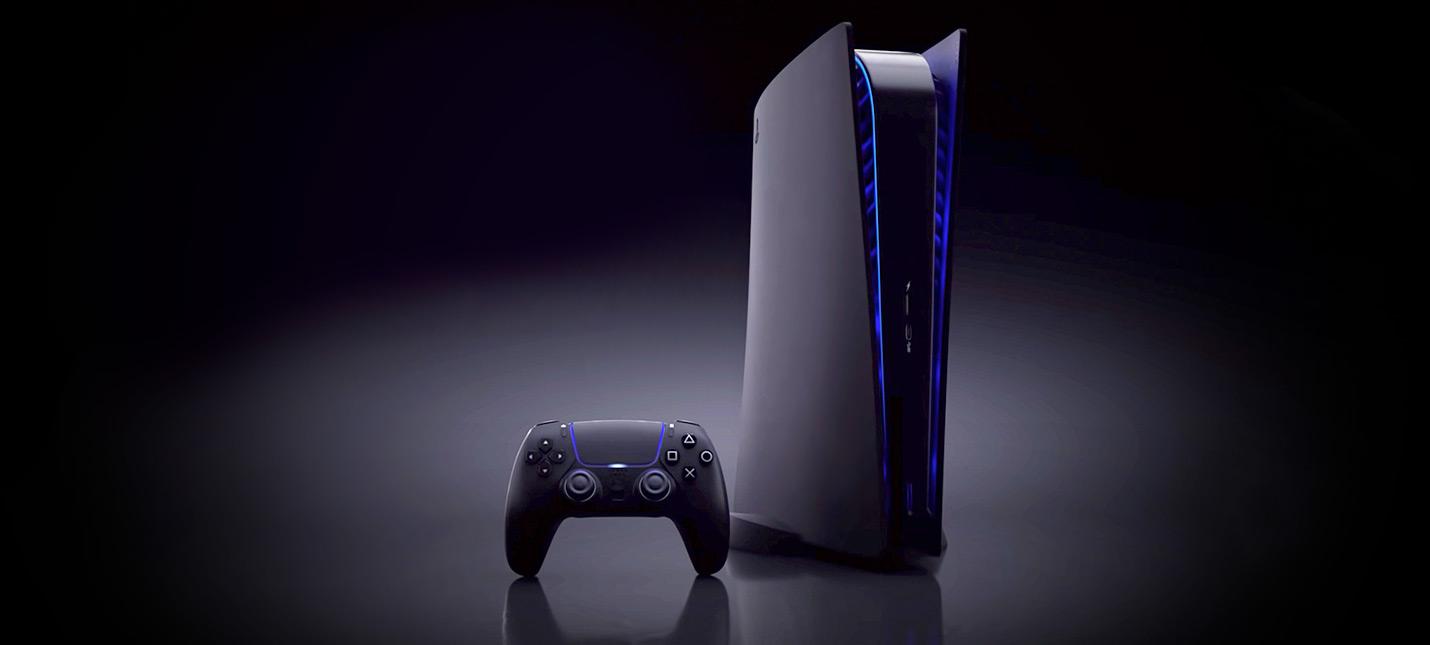Новые фотографии черного контроллера PS5 выглядят фальшивыми