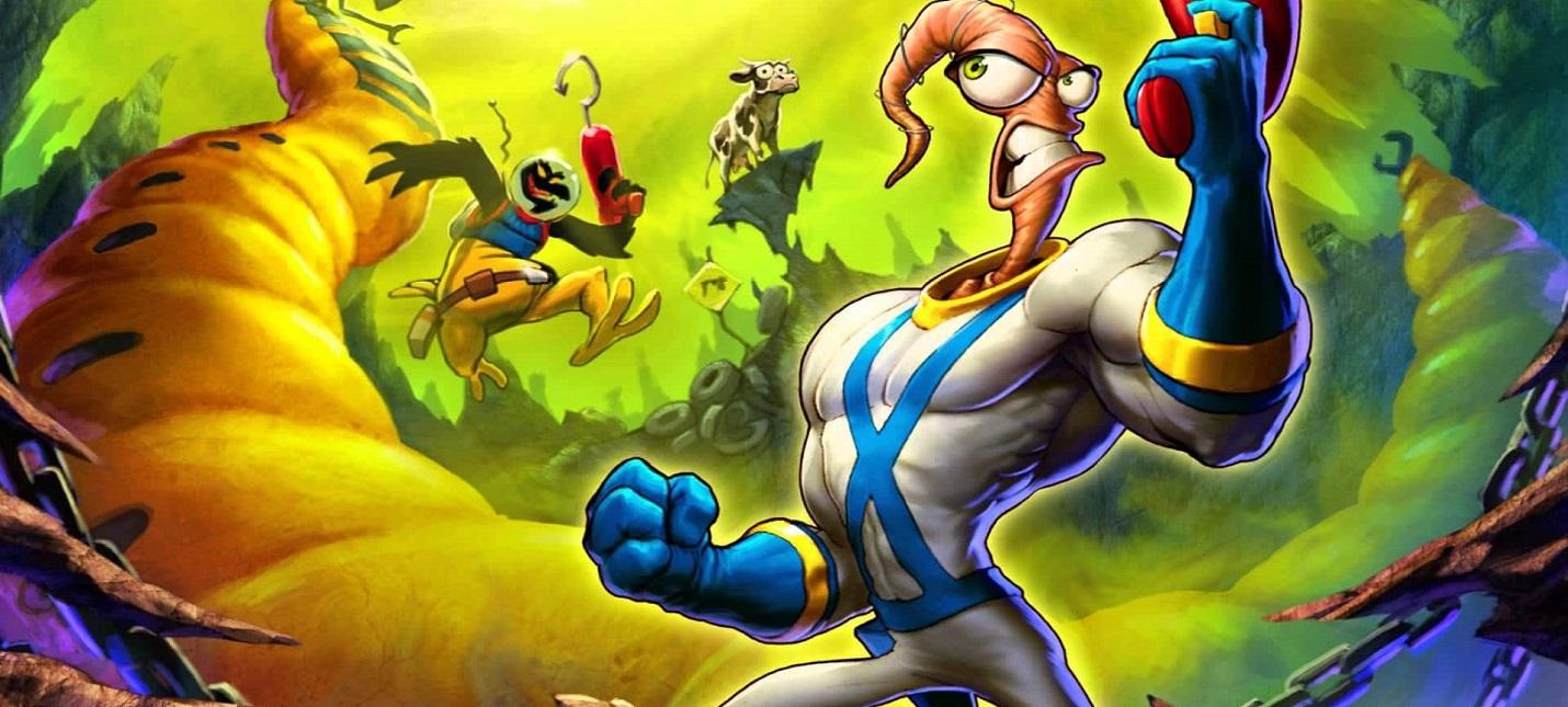 Первый взгляд на Earthworm Jim 4 — возвращение героя детства