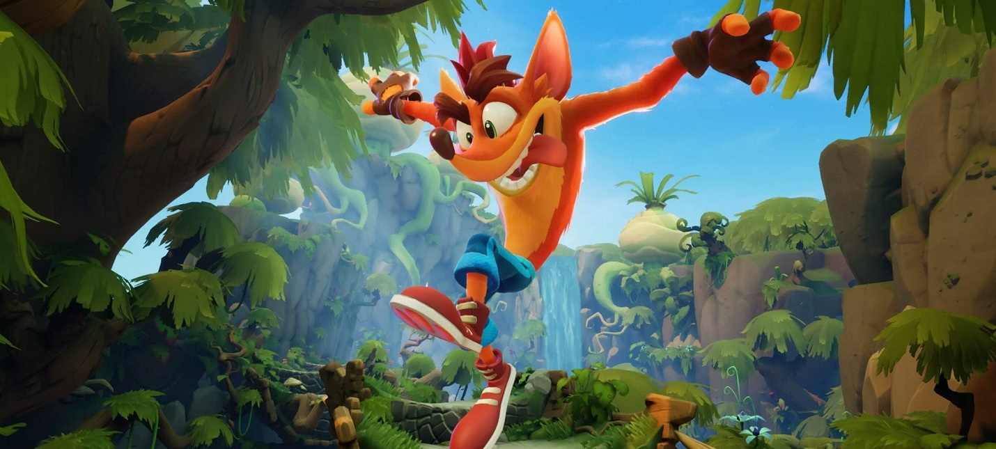 Новый геймплей Crash Bandicoot 4 Its About Time  в игру вернутся старые герои и инвертированный режим