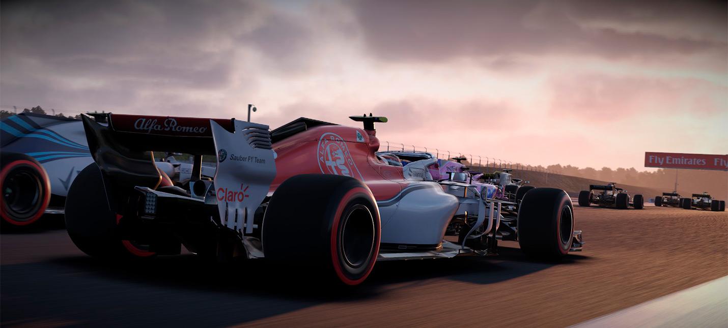В Humble Bundle бесплатно раздают рейсинг F1 2018 для Steam